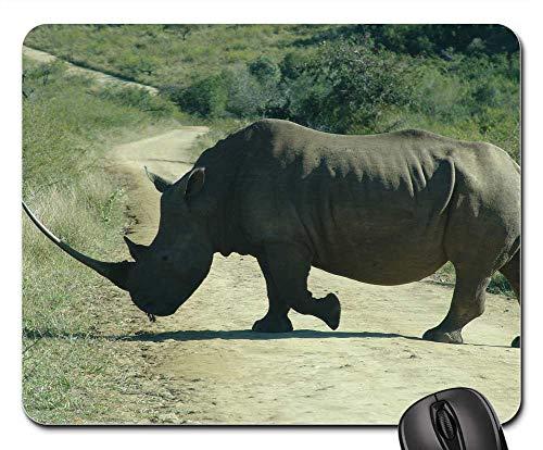 Mouse Pad - Rhino Wildlife Animal Horn Africa African Wild ()