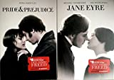 Romantic Drama Jane Eyre + Pride & Prejudice DVD 2 Pack Love Double Feature Movie Set