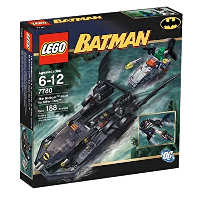 LEGO Batboat - Hunt for Killer Croc: Toys & Games