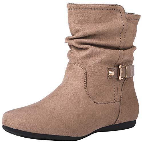 Fashion Lara Globalwin Women's 18yy12khaki Boots WwYqX7XC
