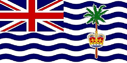 U24 Drapeau du Territoire britannique de l'océan Indien Haute Qualité pour bateau drapeau 150 x 250 cm