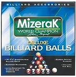: Mizerak P0512 Deluxe Billiard Ball Set