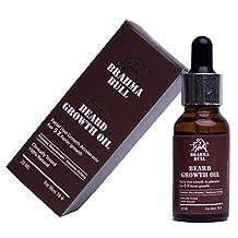 Brahma Bull Facial Hair Growth Accelerator Beard Oil For 5x Faster Growth-0.6 Oz