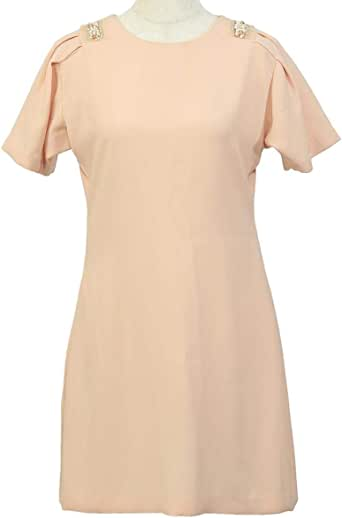 Gh Design Night Out And Cocktail Dress For Women - M, Peach
