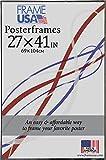 Hardboard Poster Frame, 27 x 41'', Black