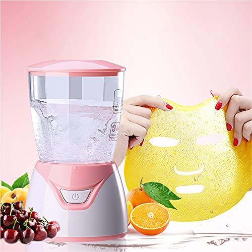Facial Treatment Machine Natural Collagen Fruit Vegetable DIY Face Maker Machine Facial Skin Care, Beauty Facial SPA (Pink)