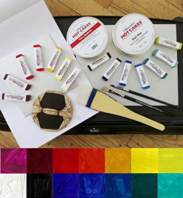 The Ultimate Encaustic Printmaking Kit