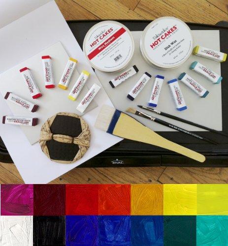 The Ultimate Encaustic Printmaking Kit (Palette Included) by Enkaustikos