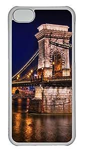 iPhone 5C Case Chain Bridge In Budapest PC Custom iPhone 5C Case Cover Transparent