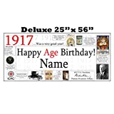 1917 DELUXE PERSONALIZED BANNER by Partypro