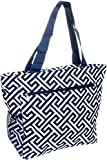 Greek Key Travel Tote Bag For Sale