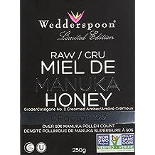 Wedderspoon - 100% Raw Premium Manuka Honey 90 KFactor 22, poly jar, 250 Grams