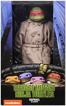 NECA TMNT (1990 Movie) Raphael Disguise 1/4 Scale Action Figure