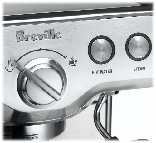 Breville Coffee Maker Wonot Heat : Breville 800esxl 15-bar triple-priming die-cast espresso machine review - Coffeehouse24h