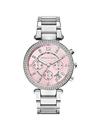 Michael Kors Women's MK6105 Silver Stainless-Steel Quartz Watch
