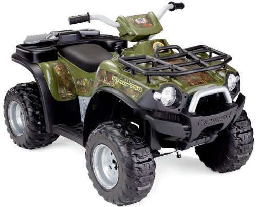 Power Wheels Kawasaki Brute Force Camouflage