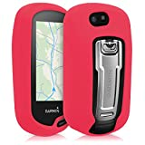 kwmobile Case for Garmin Oregon 700 / 750t - GPS handset navigation system silicone protective case - outdoor navigation device case cover Red
