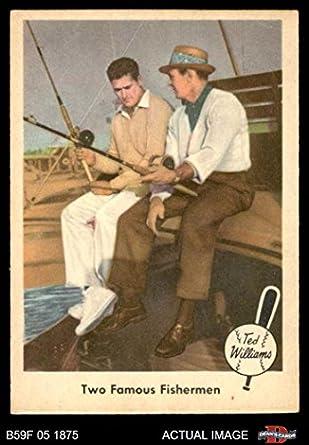 Amazoncom 1959 Fleer 67 Two Famous Fishermen Sam Snead Boston
