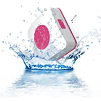 URGE Basics Aquacube Wireless Water Resistant Bluetooth Speaker - Retail Packaging - Pink