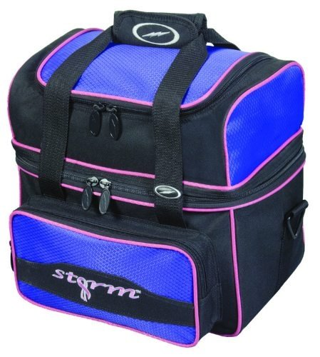 Storm 1 Ball Flip Tote Black/Purple by Storm