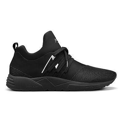 Amazon.com | ARKK Copenhagen Men Sneakers Raven Mesh S-E15 All Black White | Fashion Sneakers