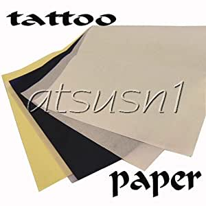 50 pack tattoo stencil transfer paper 8 x 11 for Diy tattoo transfer paper