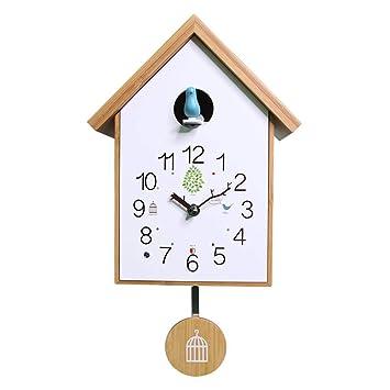HANGESS Reloj De Cuco Relojes de Pared – . para Salón, creativos Decorativa Moderna Reloj