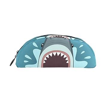 Estuche para lápices con diseño de tiburón de dibujos ...