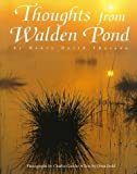 Thoughts from Walden Pond, Thoreau, Henry David, 0764906178