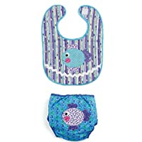 McCall's Patterns M6108 Infants' Bibs and Diaper Covers, All Sizes