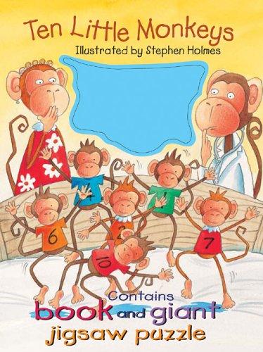 Read Online Ten Little Monkeys (Book and Puzzle Packs) PDF
