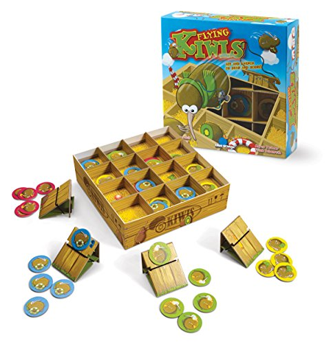 (Blue Orange Games Flying Kiwis Launching Action Board Game for Families)