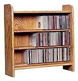 The Wood Shed 302 U Solid Oak CD Cabinet, Unfinished