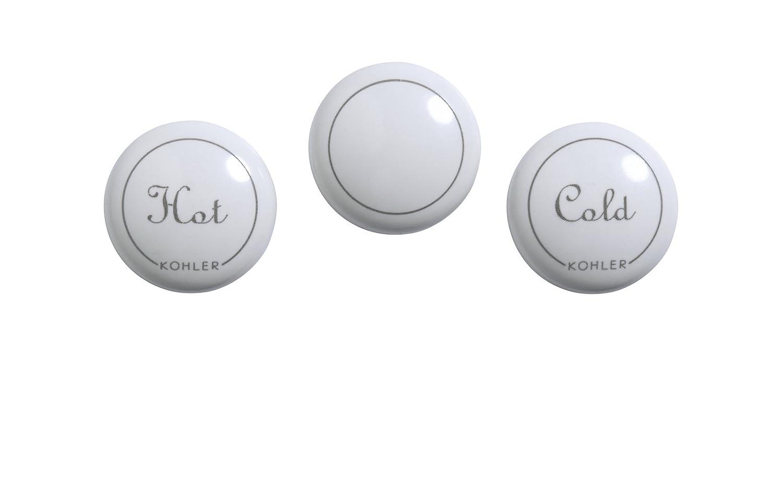 Kohler GP1077791-0 Plug Button with Fairfax Centerset Faucet ...