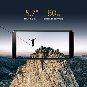 "ASUS ZenFone Max Plus (ZB570) – 5.7"" 1920×1080-3GB RAM – 32GB storage – LTE Unlocked Dual SIM Cell Phone – US Warranty – Black (Renewed)"