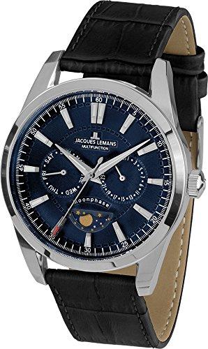 1f25b2fe6182 Jacques Lemans Chronograph Quartz 1-1901B  Amazon.co.uk  Watches