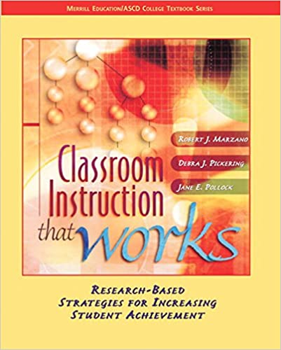 Amazon Classroom Instruction That Works Research Based
