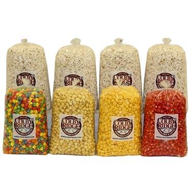 16 Gal. (256 Cups) Large Popcorn Sampler Colby Ridge Popcorn