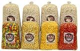 16 Gal. (256 Cups) Large Popcorn Sampler Colby Ridge Popped Popcorn