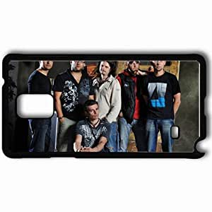 Personalized Samsung Note 4 Cell phone Case/Cover Skin 7b ivan demyan rock music Black