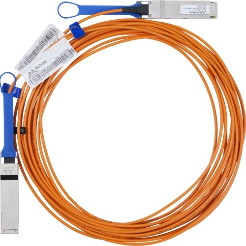 "Mellanox Technologies Ltd - Mellanox Fiber Optic Network Cable - Fiber Optic For Network Device - 10 Ft - 1 X Qsfp Male Network - 1 X Qsfp Male Network ""Product Category: Hardware Connectivity/Connector Cables"""