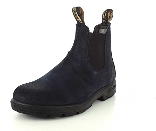 c04a7ab8f5765 Blundstone Mens Suede Series Navy Chelsea Boot - 2.5 UK: Amazon.ca ...