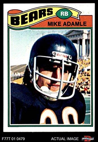1977 Topps   481 Mike Adamle Chicago Bears  Football Card  Deans Cards 5   Ex Bears