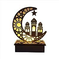 lossomly Lámpara LED de Madera DIY, Palacio Islámico