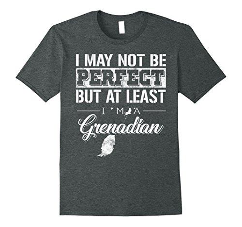 Mens I'm Grenadian proud gifts shirt 3XL Dark Heather (Grenadians On Halloween)