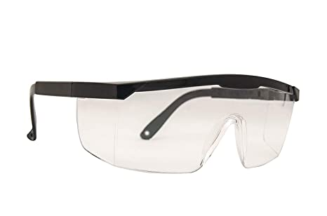 Gafas Transparentes con protecci/ón anti niebla y protecci/ón y antiara/ñazos ultravioleta perfecta Gafas Protectoras para Trabajo y Deporte Pack de 3 gafas de seguridad