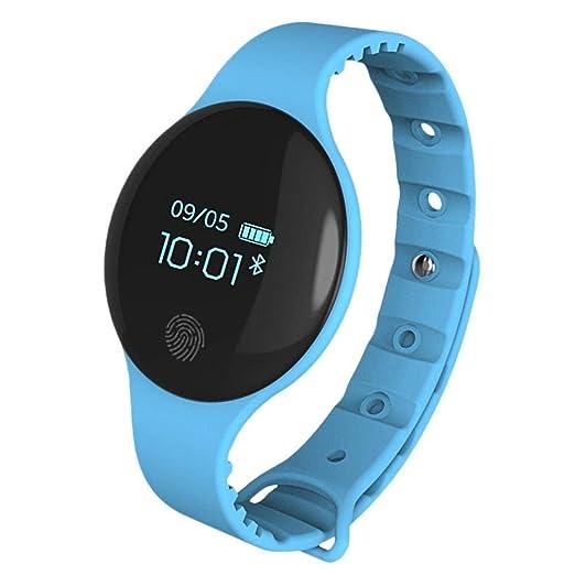 Sanda Smart Bluetooth Watch para iOS Android Sport Smart Podómetro Fitness Reloj de Pulsera para Hombres Mujeres: Amazon.es: Relojes