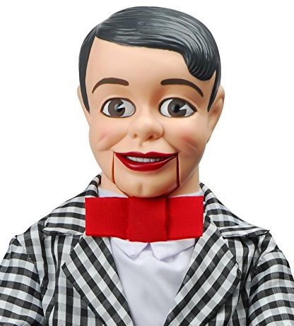 Danny O'Day Dummy Ventriloquist Doll, Voice of Nestlé Chocolate. One of the Most Famous Celebrity Vent Dummies in 50's & 60's. BONUS E-Book 'How to Be a Ventriloquist' by Celebrity Ventriloquist Doll