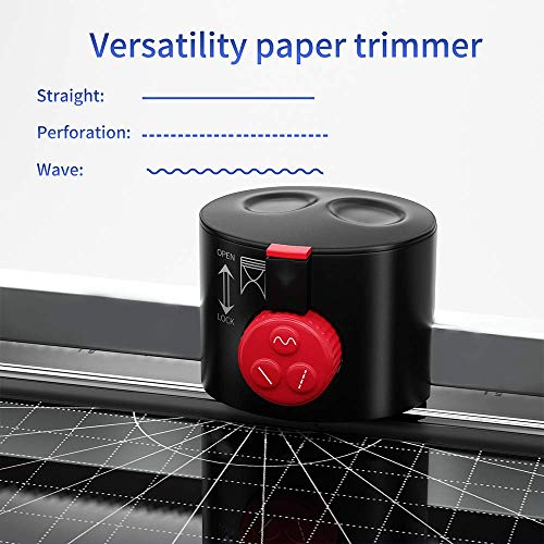 Willing A4 Laminator Machine, Thermal Laminator Advanced Never Jam Technology, Hot&Cold, 3min Warm-up, 20 Laminating Pouches/Paper Trimmer/Corner Rounder Included for Home/School/Office/Craft/Card