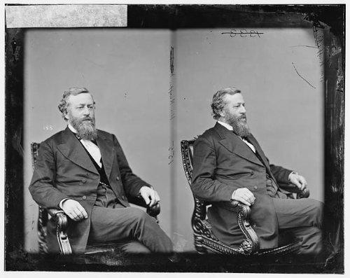 Photo: Knapp,Honorable Robert M,Illinois,IL,politicians,portrait photographs,men,1865 1 (Knapp Decorations Christmas Art)